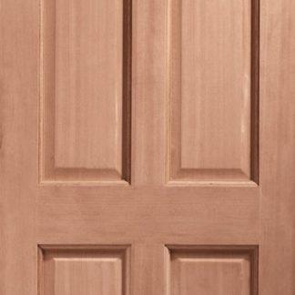 Colonial 6 Panel External Hardwood Door (Dowelled)