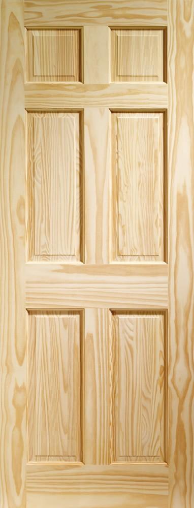 Colonial 6 Panel Internal Clear Pine Door