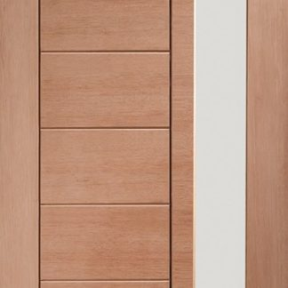 Modena External Hardwood Door with Double Glazed Obscure Glass