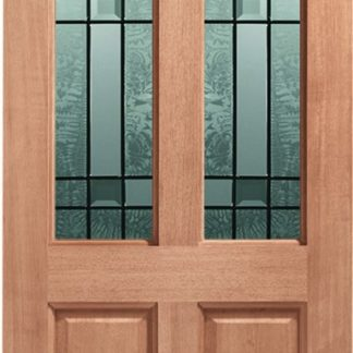 Malton Double Glazed External Hardwood Door (Dowelled) with Drydon Glass