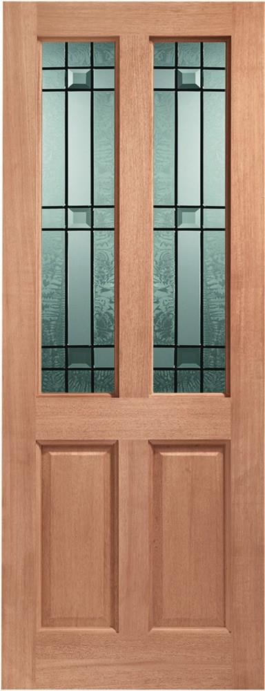 Malton Double Glazed External Hardwood Door (Dowelled) with Drydon Glass