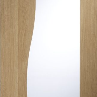 Emilia Internal Oak Door with Clear Glass