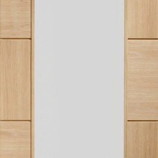 Ravenna Internal Oak Door with Clear Glass