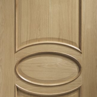 Calabria Internal Oak Door with Raised Mouldings