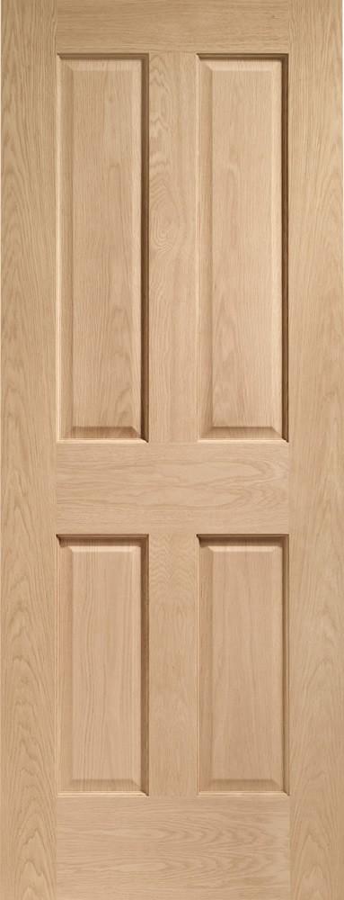 Victorian 4 Panel Internal Oak Door