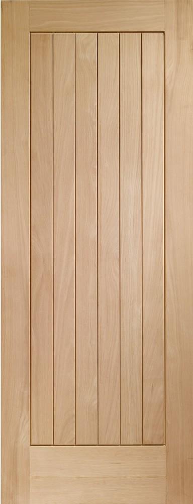 Suffolk External Oak Door (M&T)