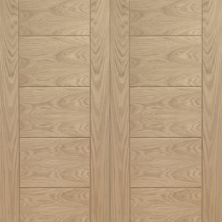 Palermo Internal Oak Rebated Door Pair