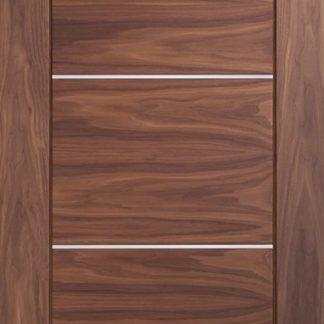 Portici Pre-Finished Internal Walnut Door