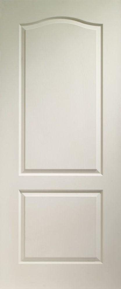 Classique 2 Panel Internal White Moulded Door