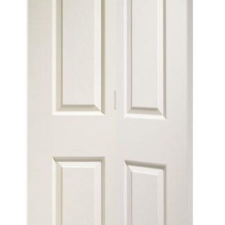 Colonist 6 Panel Bi-Fold Internal White Moulded Door