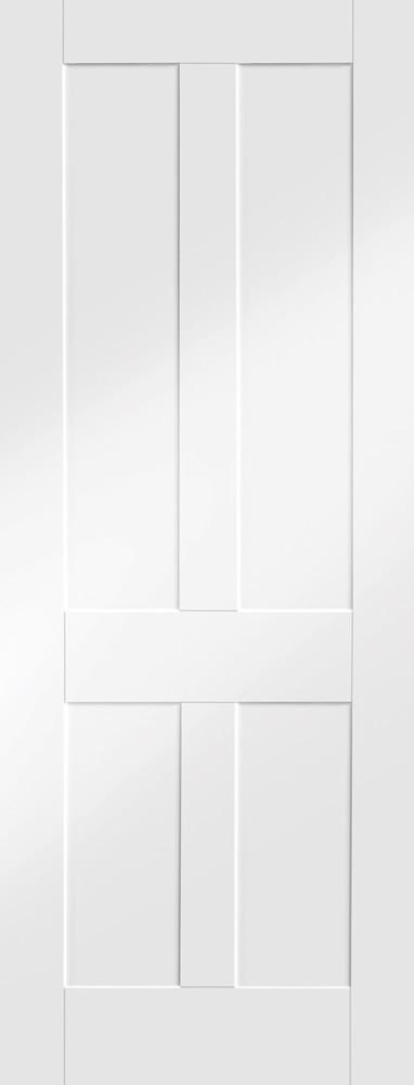 Victorian Shaker Internal White Primed Door